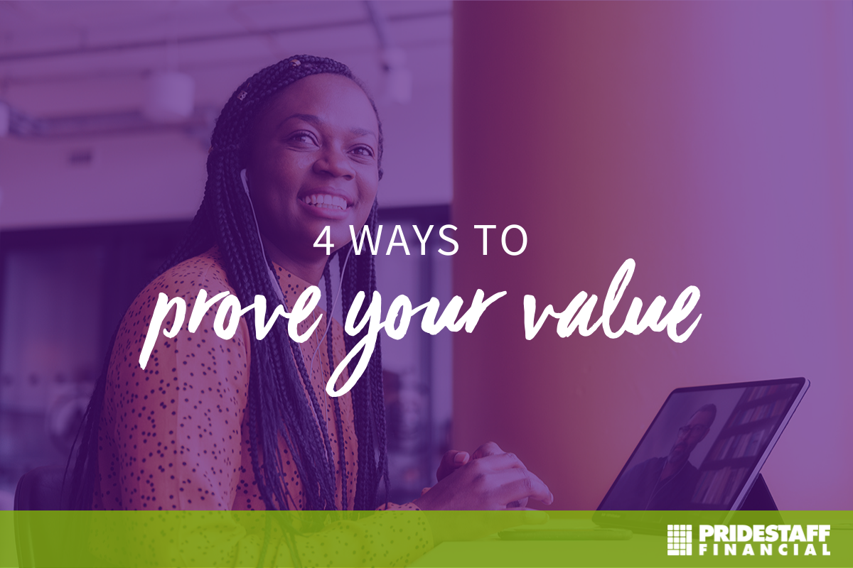 Proving your value while not face-to-face