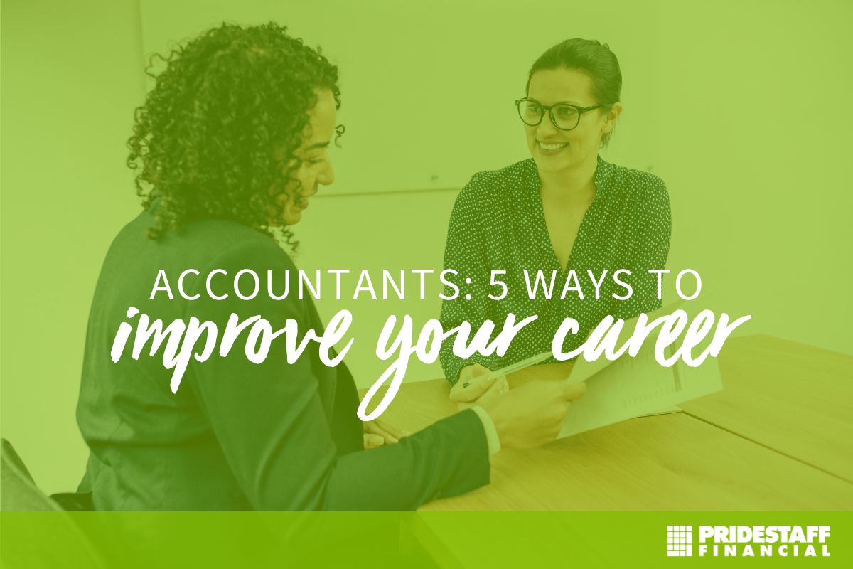 5 ways to improve your accountant career