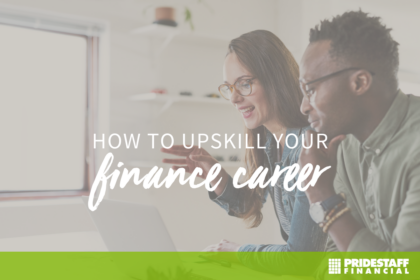upskill in your finance career